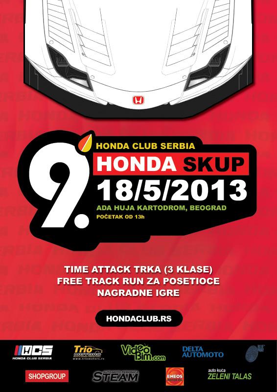 Honda Skup 9 by HCS - 18. maj 2013.