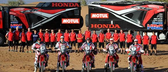 Honda tim, Dakar 2014